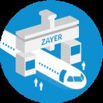 Grandi componenti lavorate a piazzamento unico con Zayer Gantry GMCU 22000 AR